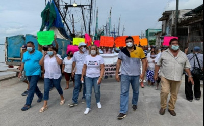 Pescadores de zona norte en quiebra, adeudan 3 mdp a Conapesca, piden diálogo